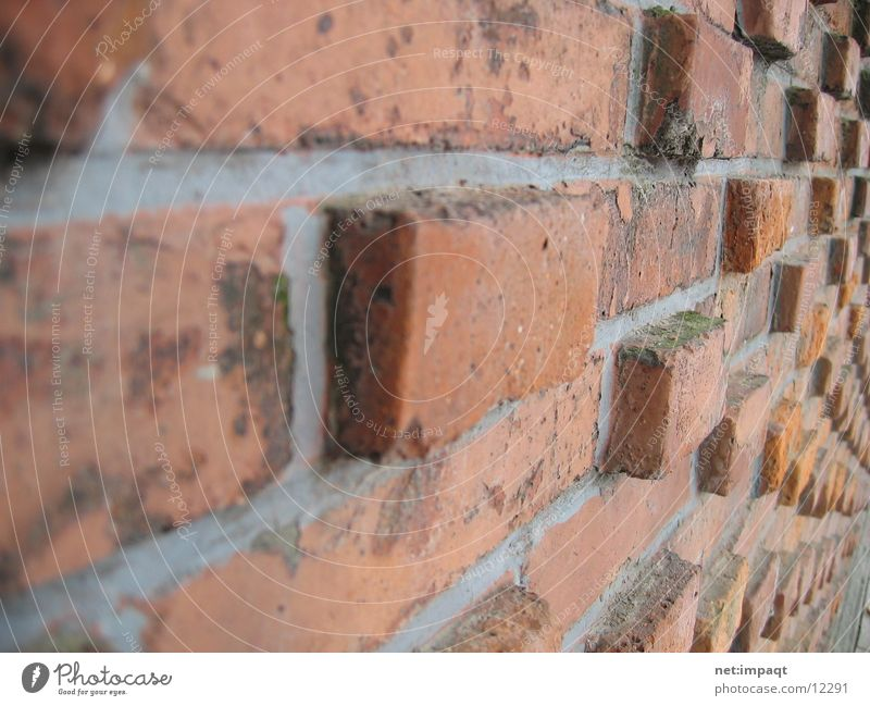 Red Wall (building) Stone Wall (barrier) Architecture Brick Seam