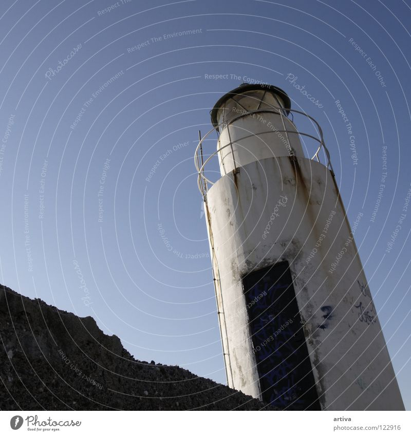 land Italy Sky Light Ocean Camogli lantern lanterna sea genova