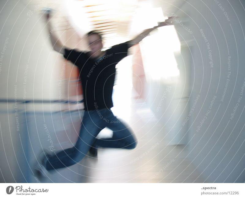 caper Stunt Blur Human being Joy