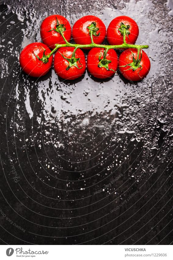 Nature Water Black Dish Eating Food photograph Style Background picture Design Nutrition Table Cooking & Baking Wet Kitchen Card
