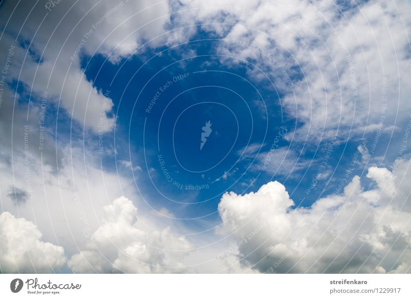 Sky Nature Vacation & Travel Blue Summer Water White Clouds Calm Far-off places Environment Warmth Movement Gray Freedom Above