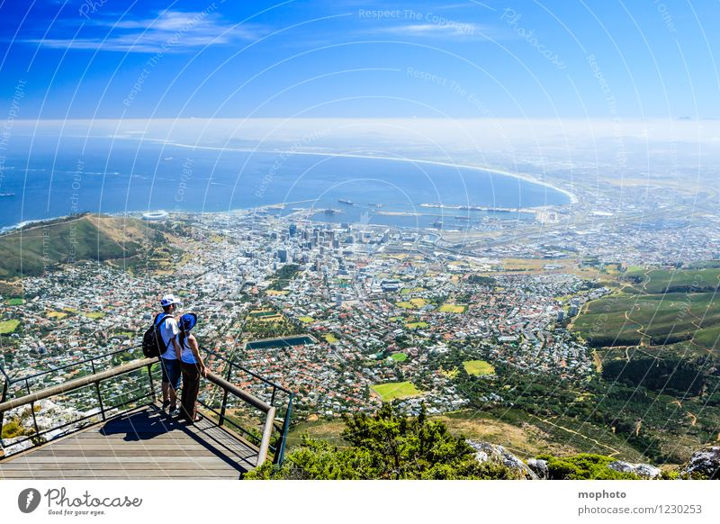 I love Capetown #3 Vacation & Travel Tourism Far-off places Sightseeing City trip Ocean Human being Young woman Youth (Young adults) Young man Couple Partner 2