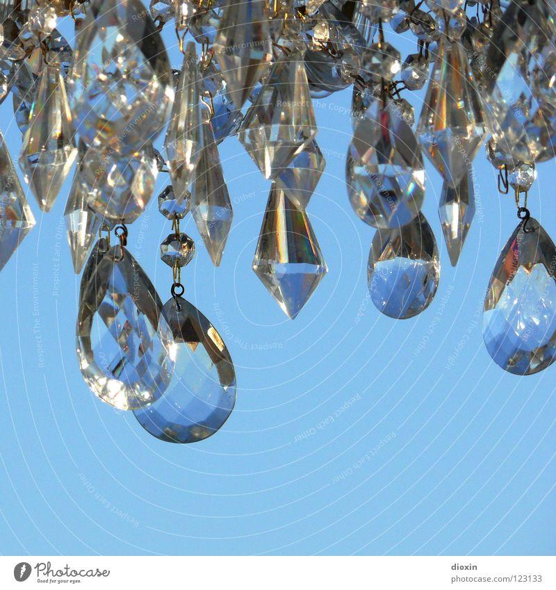 Sky Blue Art Glittering Glass Jewellery Noble Crystal structure Diamond Treasure Brilliant Precious Arts and crafts  Expensive Fraud Precious stone