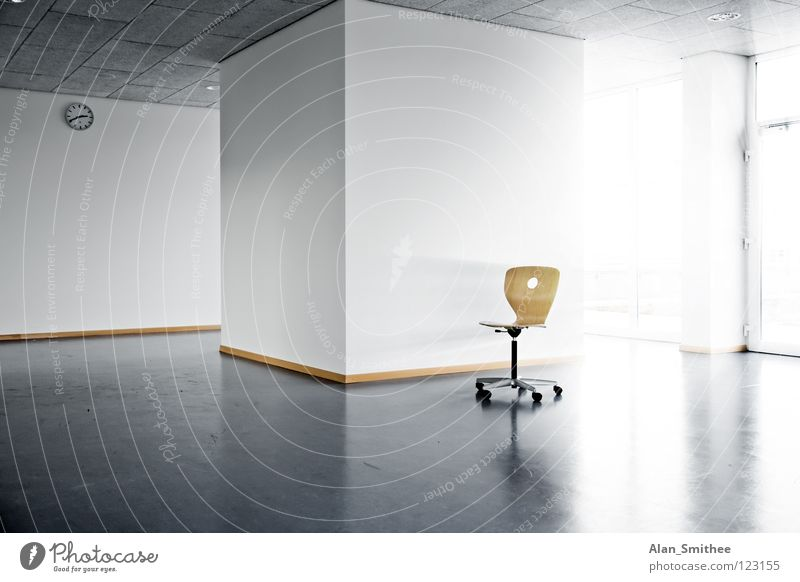 Sun Wall (building) Window Architecture Wall (barrier) Office Business Bright Work and employment Room School building Empty Clock Chair Clean Seating