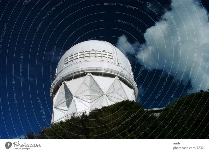 Close to the stars Clouds Arizona White Kitt Peak National Observatory Astronomy Science & Research USA Sky Star (Symbol) Universe Blue Stars
