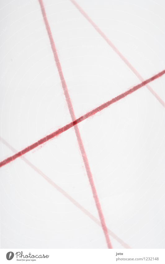 red lines III Design Team Lanes & trails Road junction Line Stripe String Net Network Communicate Argument Modern Red Relationship Chaos Contact Crisis Teamwork