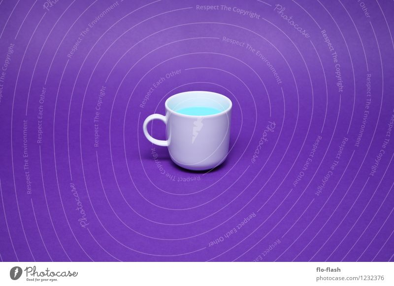Blue Beautiful Life Style Healthy Lifestyle Food Art Design Beverage Sweet Retro Wellness Violet Kitsch Plastic