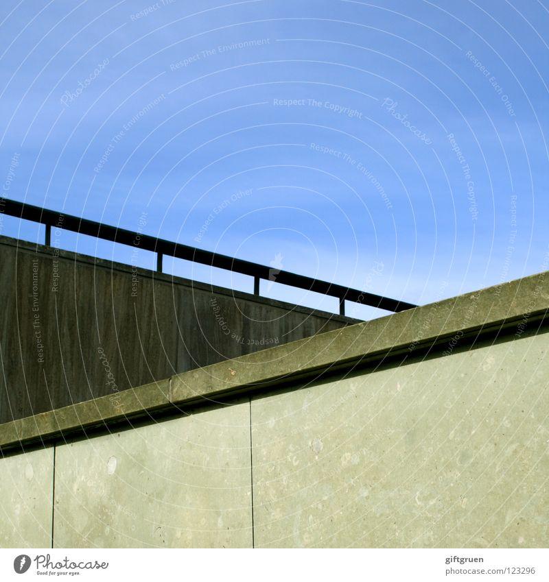 Sky Blue Wall (building) Stairs Aviation Upward Handrail Downward Mixture Skyward