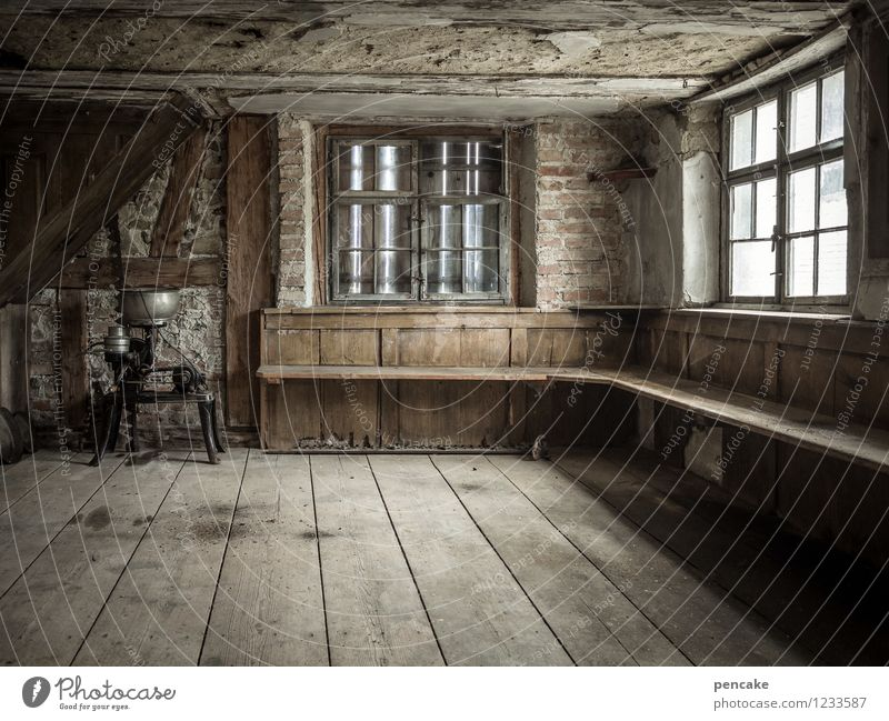 Old Dark Interior Design A Royalty Free Stock Photo From