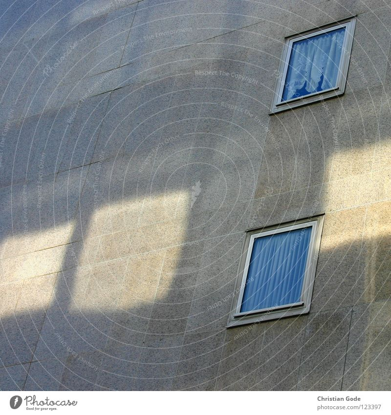 light window Wall (building) High-rise Window Light Curtain Structures and shapes Gray Yellow House (Residential Structure) Wall (barrier) Architecture Germany