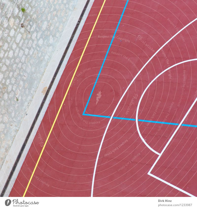 Matchbase II Crucifix Sharp-edged Blue Yellow Pink Red Playing Playground Playing field Playing field parameters Tennis Tennis court Wall (barrier)