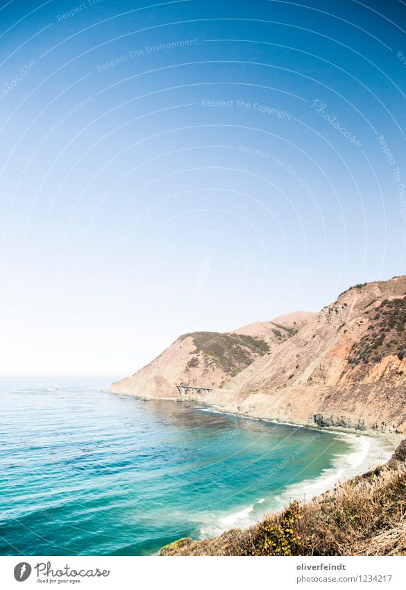 Sky Nature Beautiful Summer Ocean Landscape Far-off places Beach Environment Warmth Coast Freedom Rock Horizon Leisure and hobbies Weather