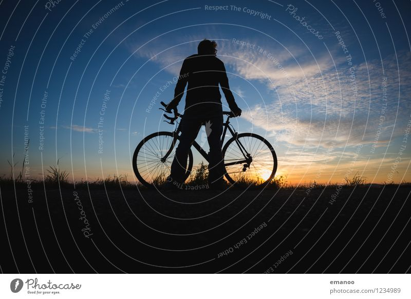 stand Lifestyle Joy Wellness Relaxation Calm Leisure and hobbies Vacation & Travel Tourism Trip Far-off places Freedom Cycling tour Summer Mountain Sports