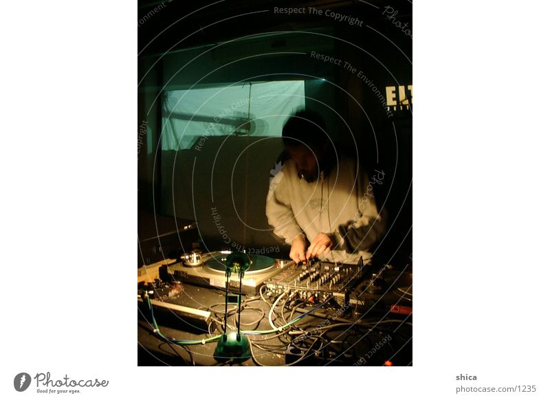 Man Music Event Disc jockey Live