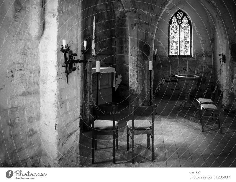 Calm Architecture Building Religion and faith Germany Church Candle Chair Manmade structures Narrow Prayer Rough Gothic period House of worship Candlestick