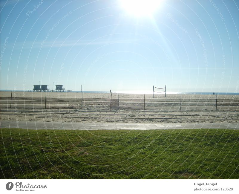 venice beach Los Angeles Beach California December Blue sky Sun Beautiful weather