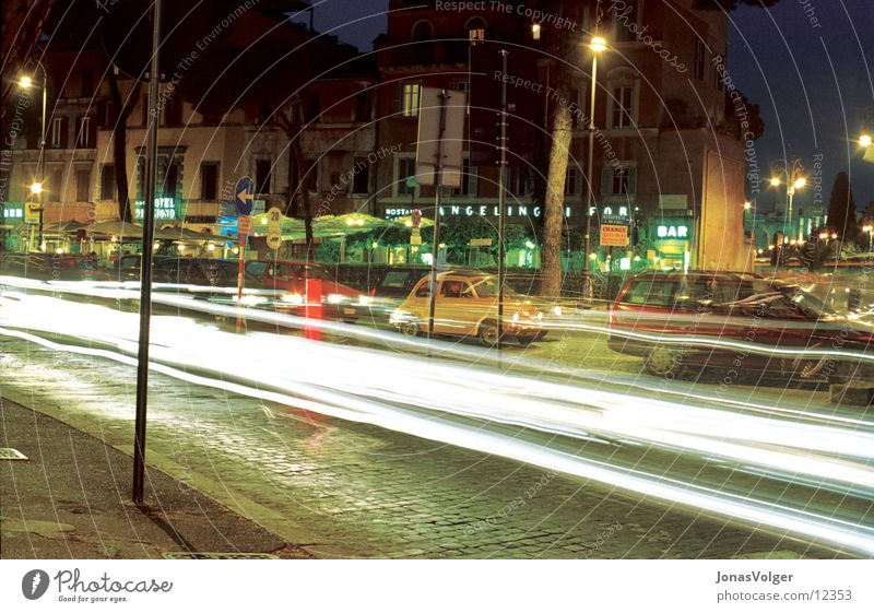intercourse Night Transport Town Photographic technology Light Colour Car