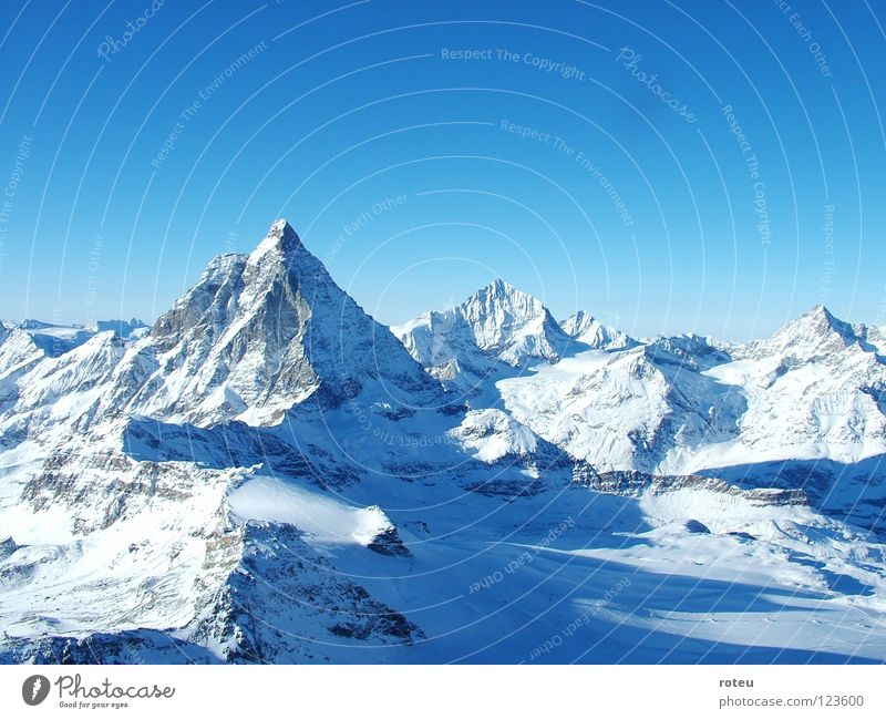 Mountain Switzerland Alps Canton Wallis Matterhorn Zermatt