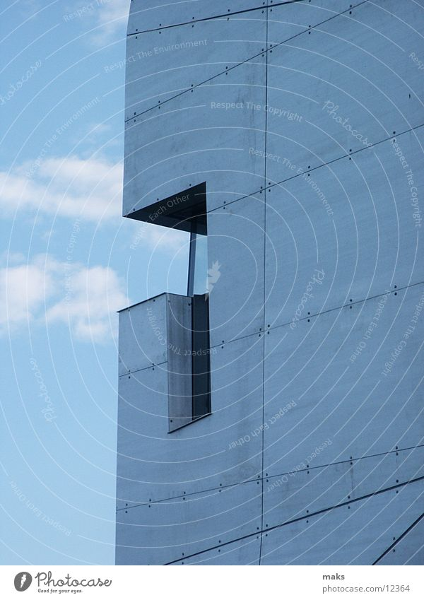 loisium2 Aluminium Architecture steven holl langenlois Metal brushed Sky Blue Silver Contrast