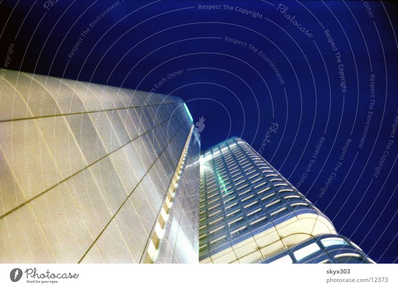 Floor Camera Night Frankfurt Architecture high-rise building finance