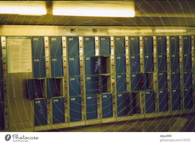 lockers London Underground Photographic technology