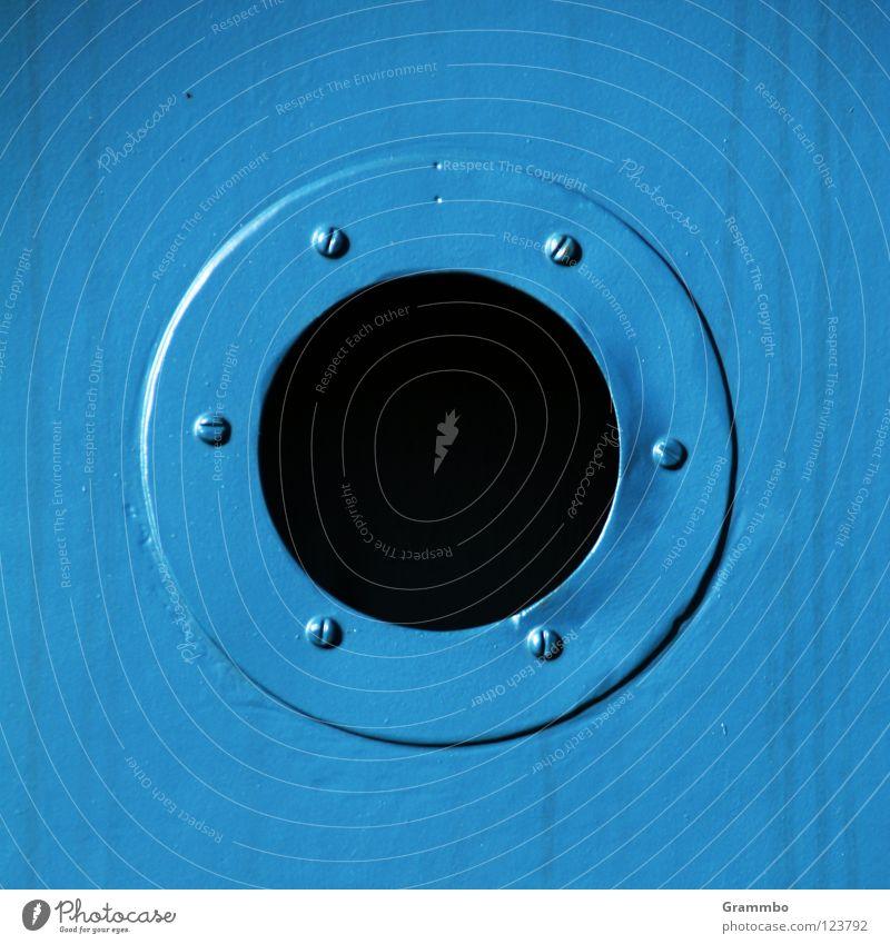 Blue Dark Metal Technology Round Screw Electrical equipment