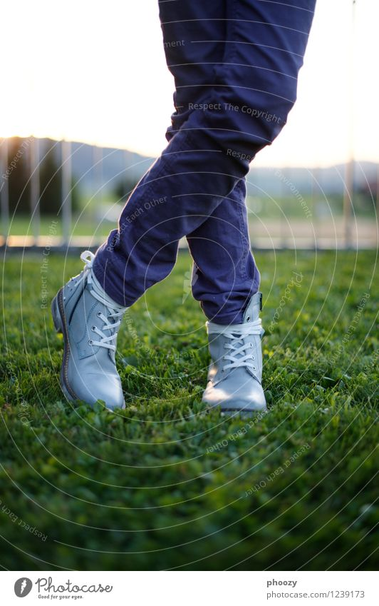 boots Style Feminine Girl Legs Feet 1 Human being 8 - 13 years Child Infancy Pants Footwear Boots Stand Green Violet Relaxation Serene Testing & Control
