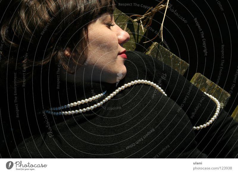 Woman Joy Wood Sleep Trust Pearl Wooden floor Young woman