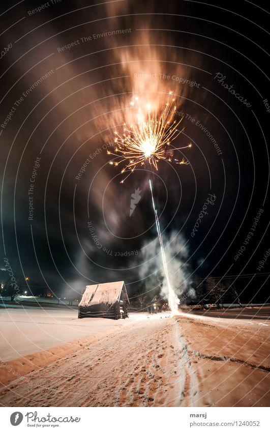 Joy Dark Feasts & Celebrations Happiness Smoke New Year's Eve Firecracker Go up Smoke-filled