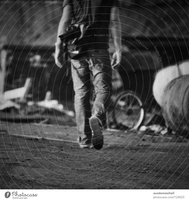 Man White Summer Black Warmth Sand Legs Footwear Arm Walking Masculine Floor covering Industry T-shirt Jeans Trash