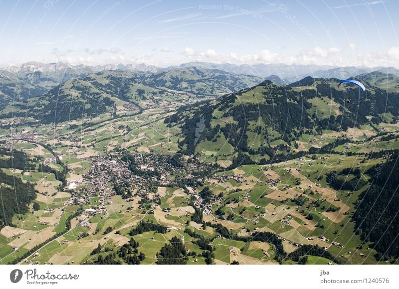 Wispile - Staldenhorn - Reason III Well-being Contentment Relaxation Calm Trip Freedom Summer Mountain Sports Paragliding Nature Landscape Elements Air Sky