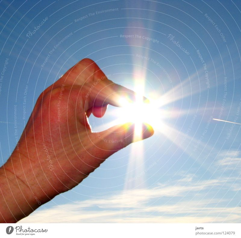 Hand Sky Sun Summer Clouds Bright Power Environment Fingers Force Close-up Energy industry Electricity Change Climate Light