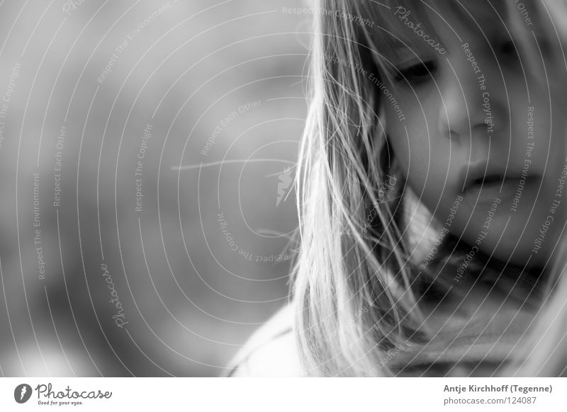 solitary Student Provocative Kindergarten Grief Black White Portrait photograph Cute Sweet Friendliness Graceful Brash Impish Toddler Beautiful Distress