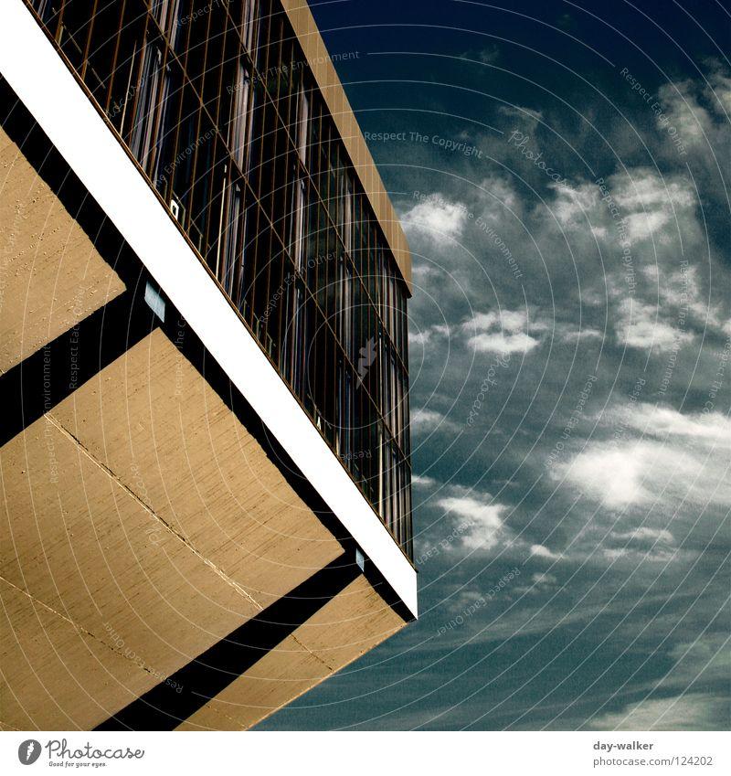 dream factory Factory Building Aspire Window Pedestal Concrete Drape Gymnasium Clouds Sunlight Shadow Reflection Landmark Monument Sky Detail Warehouse