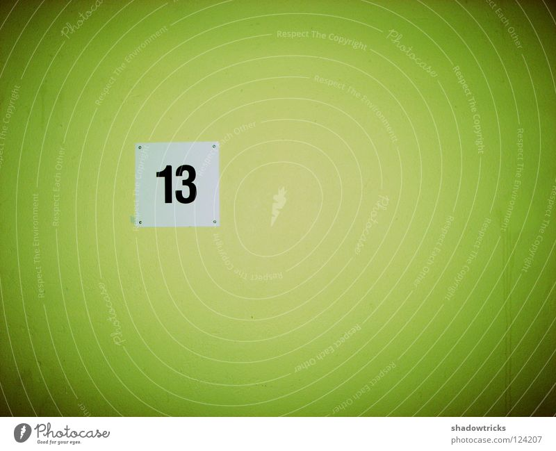 Green Wall (building) Digits and numbers Wallpaper Story Typography Elevator Staircase (Hallway) 13