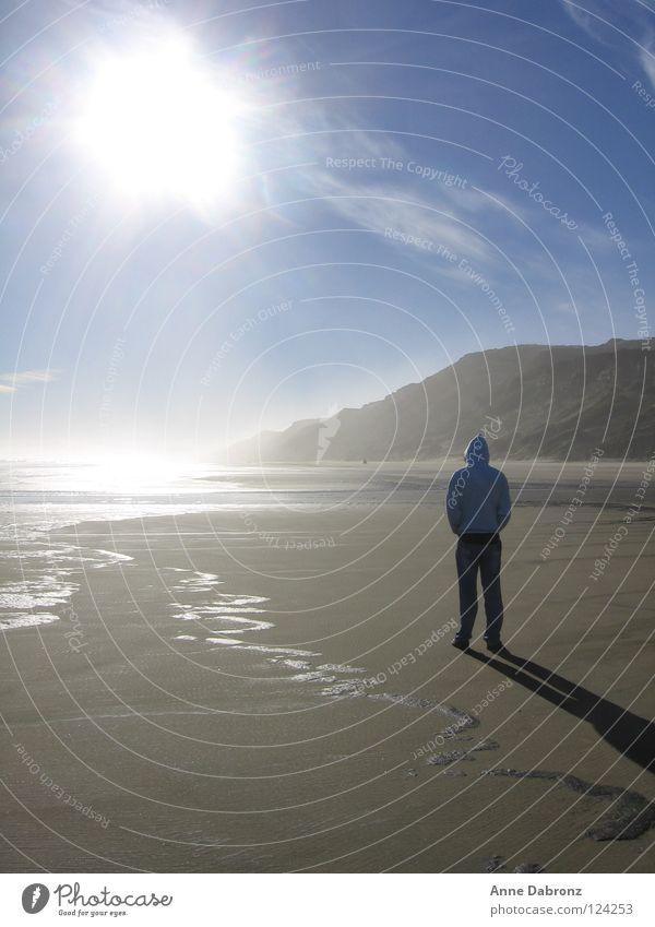 Beautiful Sky Sun Ocean Summer Beach Calm New Zealand