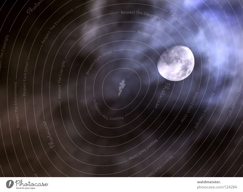 Sky Clouds Dream Moon Planet Celestial bodies and the universe Astronomy Werewolf Astrology Moonstruck Astrophotography