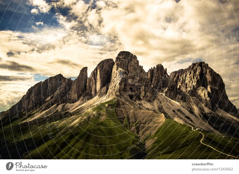 Dolomites II Vacation & Travel Tourism Trip Freedom Summer Summer vacation Sun Mountain Climbing Mountaineering Hiking Nature Landscape Beautiful weather Alps