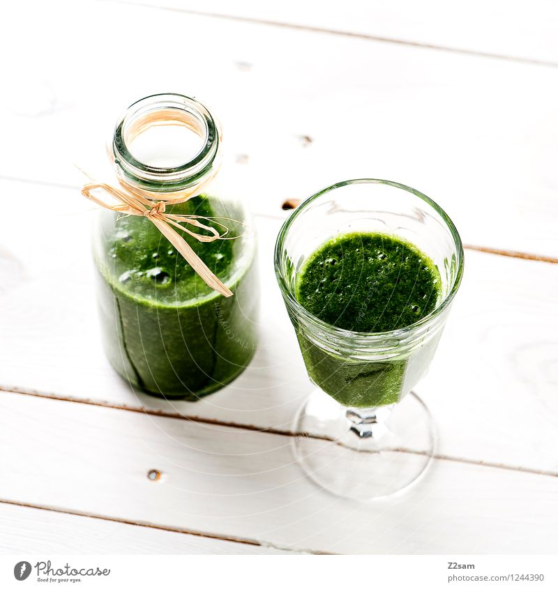 Delicious smoothie Food Vegetable Lettuce Salad Fruit Herbs and spices Nutrition Vegetarian diet Diet Fasting Beverage Milkshake Simple Fresh Healthy Natural