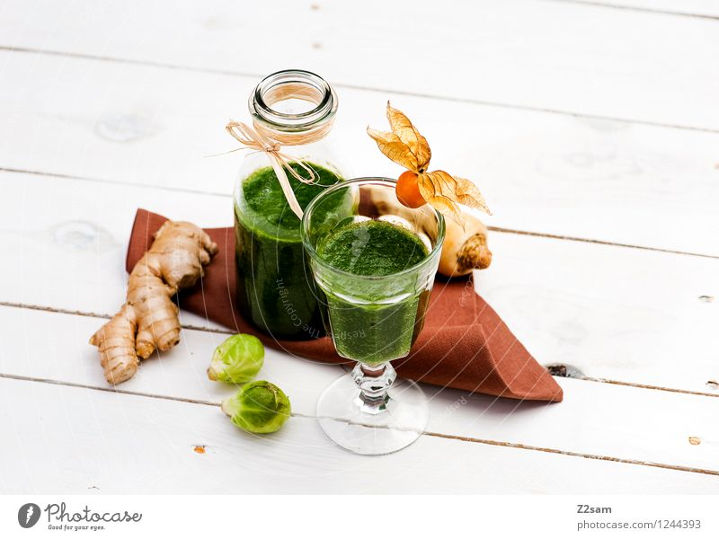 Delicious and healthy Vegetable Fruit Herbs and spices Brussels sprouts Ginger Organic produce Vegetarian diet Diet Fasting Beverage Cold drink Exotic Fluid