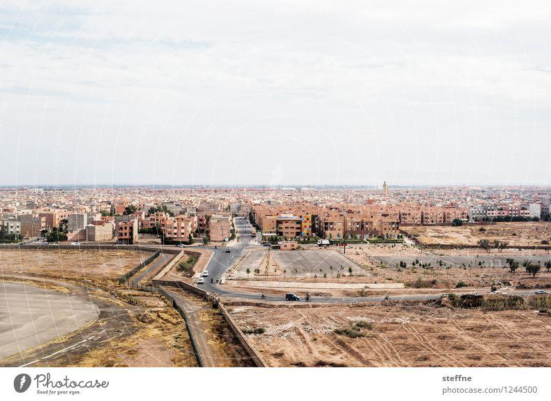 Arabian Dream XII Morocco Orient vacation Tourism Marrakesh Town Airplane Bird's-eye view