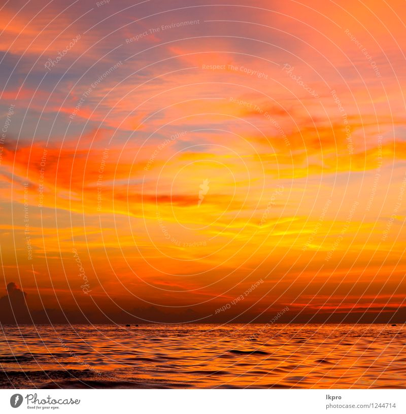 sunrise boat and sea in Sky Nature Colour Sun Relaxation Red Clouds Beach Mountain Coast Freedom Sand Rock Watercraft Tourism Waves