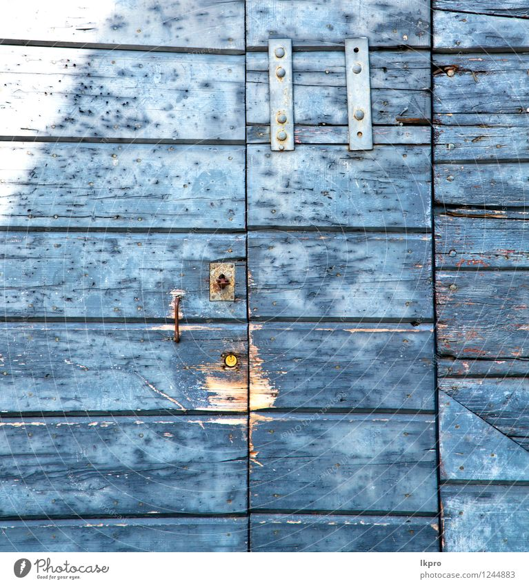 abstract cross santo antonino brass Vacation & Travel City Old Blue Green House (Residential Structure) Black Architecture Metal Facade Tourism Dirty Door