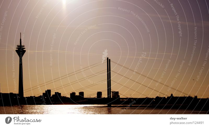 Water Sky City Clouds Building Coast Rope Bridge River Tower Monument Manmade structures Landmark Column Antenna Television tower