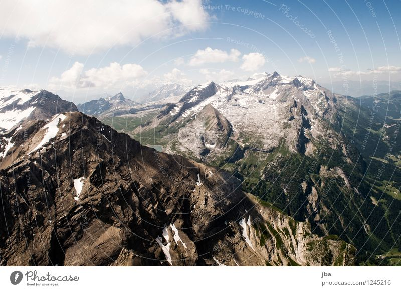 The Spitzhorn II Lifestyle Well-being Contentment Relaxation Calm Leisure and hobbies Trip Freedom Summer Mountain Sports Paragliding Paraglider