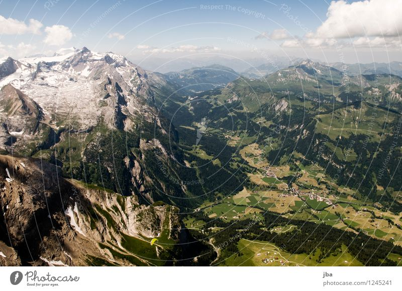 Col du Pillon Lifestyle Well-being Contentment Relaxation Calm Leisure and hobbies Trip Far-off places Freedom Summer Mountain Sports Paragliding Paraglider