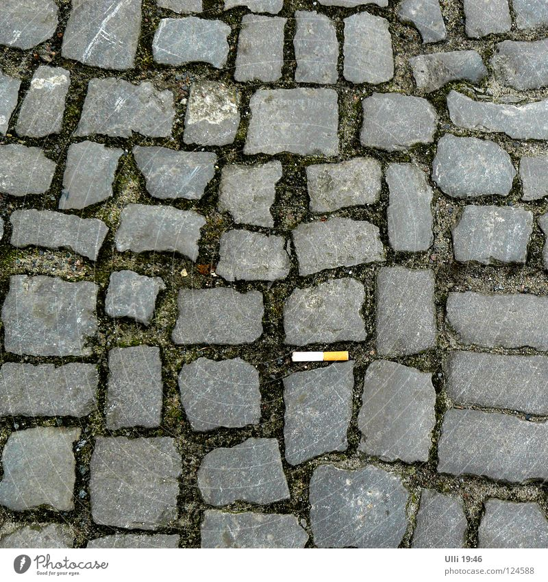 City Calm Street Gray Sand Stone Earth Blaze Gloomy Clean Smoking Footpath Sidewalk Tobacco products Cobblestones Cigarette