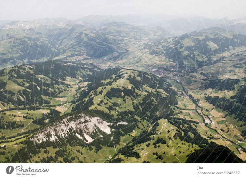 murky Gstaad Lifestyle Well-being Contentment Relaxation Calm Leisure and hobbies Trip Freedom Summer Mountain Sports Paragliding Sporting Complex Nature