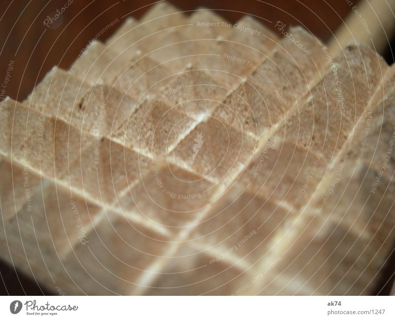 meat tenderizer Brown Kitchen Macro (Extreme close-up) Pyramid