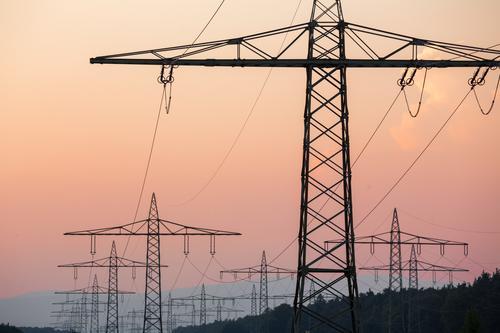 Energy industry Power Esthetic Air Traffic Control Tower Electricity pylon Solar Power High voltage power line Renewable energy Energy crisis